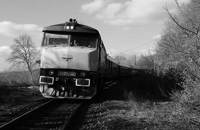 KZC, T478 2065 (90 54 3749 259-8 CZ-KZC) at Stara Kremnicka on 5th February 2018 working Grumpy Railtour (2)