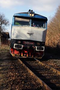 KZC, T478 2065 (90 54 3749 259-8 CZ-KZC) at Stara Kremnicka on 5th February 2018 working Grumpy Railtour (4)