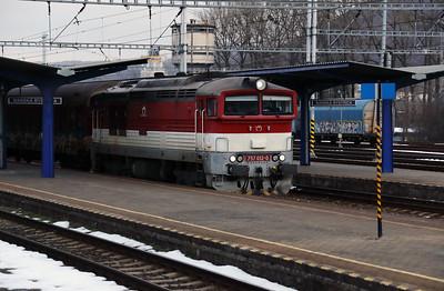 757 012 (92 56 1757 012-0 SK-ZSSK) at Banska Bystrica on 5th February 2018 (4)