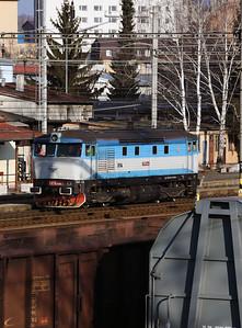 KZC, T478 2065 (90 54 3749 259-8 CZ-KZC) at Zvolen Nakladna Stanica on 5th February 2018 working Grumpy Railtour (7)