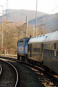 KZC, T478 2065 (90 54 3749 259-8 CZ-KZC) near Zvolen Osobna Stanica on 5th February 2018 working Grumpy Railtour