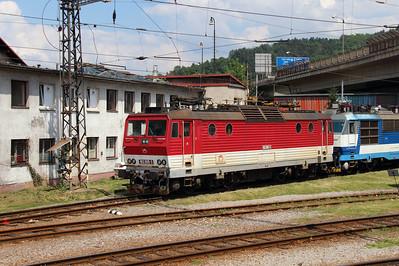 162 005 (91 56 6162 005-3 SK-ZSSK) at Zilina Depot on 23rd June 2016 (2)
