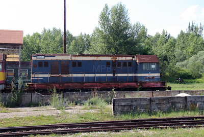 721 042 at Trencianska Tepla Depot on 23rd June 2016
