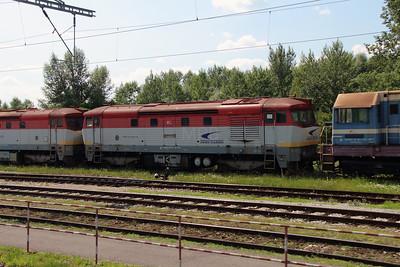 751 175 (92 56 1751 175-1 SK-ZSSKC) at Trencianska Tepla Depot on 23rd June 2016