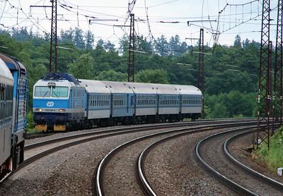 150 224 near Ceska Trebova on 20th June 2016