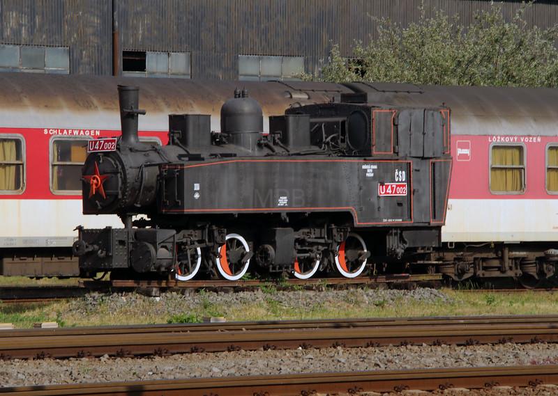 steam, U47 002 at Presov on 23rd June 2016
