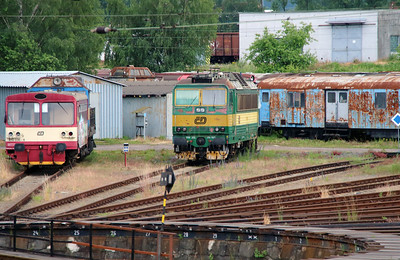 Unknown at Ceska Trebova Depot on 20th June 2016 (1)