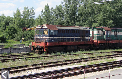 721 230 at Trencianska Tepla Depot on 23rd June 2016