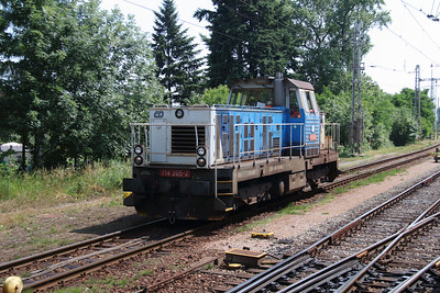 714 205 (92 54 2714 205-2 CZ-CD) at Hradec Kralove Hlavni Nadrazi on 24th June 2016 (2)