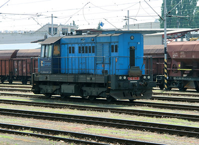 742 077 (92 54 2742 077-1 CZ-CDC) at Hradec Kralove Hlavni Nadrazi on 24th June 2016