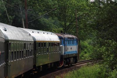 KZC, T478 2065 (90 54 3749 259-8 CZ-KZC) near Ostrava Vitkovice on 21st June 2016 working NFP Railtour