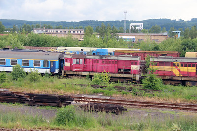 742 149 (92 54 2742 149-8 CZ-CDC) at Ceska Trebova Depot on 20th June 2016