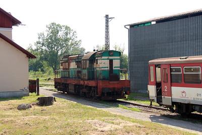 771 094 (92 56 1771 094-0 SK-ZSSKC) at Trencianska Tepla Depot on 23rd June 2016