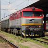 ZSSK, 751 035 (92 56 1751 035-7 SK-ZSSKC) at Zilina on 23rd June 2016 working NFP Railtour (6)