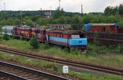 7xx xxx at Ceska Trebova Depot on 20th June 2016 (3)