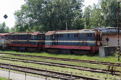 721 124 at Trencianska Tepla Depot on 23rd June 2016 (2)