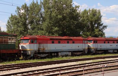 751 197 (92 56 1751 197-5 SK-ZSSKC) at Trencianska Tepla Depot on 23rd June 2016