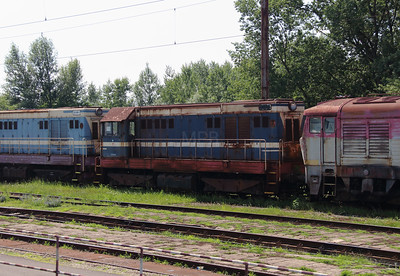 721 XXX at Trencianska Tepla Depot on 23rd June 2016