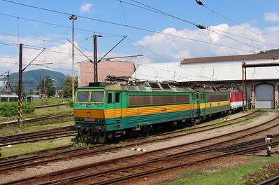 163 109 (91 56 6163 109-2 SK-ZSSK) at Zilina Depot on 23rd June 2016 (1)