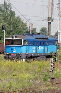 753 778 near Nymburk Hlavni Nadrazi on 24th June 2016 (1)