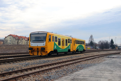 914 142 (95 54 5914 142-5 CZ-CD) at Rudna u Prahy on 9th March 2015 (2)