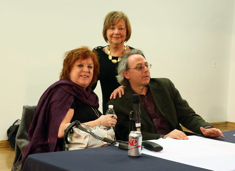 L to R: Drucilla Cornell, Rhoda Schermer, Roger Berkowitz
