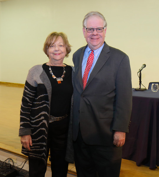 Rhoda Schermer, President NFRPP and Perry Dane