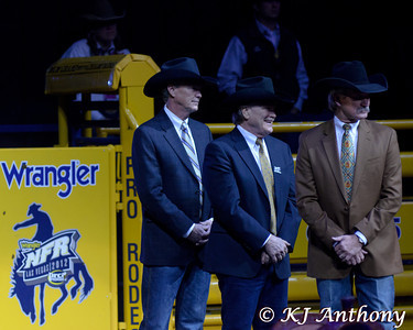 The Professional Rodeo Cowboys Association held the 54th Wrangler National Finals Rodeo, December 6 to 15, 2012 at the Thomas and Mack in Las Vegas.  On December 15 after the last bull bucked, the World Champions were crowned after ten days of glory, pain, blood, sweat, and tears. The 2012 World Champions are: All-Around - Trevor Brazile, Bareback Riding - Kaycee Field, Steer Wrestling - Luke Branquino, Team Roping (Header) - Chad Masters, Team Roping (Heeler) -  Jade Corkill, Saddle Bronc Riding - Jesse Wright, Tie-Down Roping - Tuf Cooper, Steer Roping - Rocky Patterson, and Bull Riding - Cody Teel. A tip of our Resistol to… 2012 the NFR World Champions.   We would like to thank the Thomas and Mack, the PRCA (Professional Rodeo Cowboys Association), the Cowboys and Cowgirls, the stock contractors, and the fans for their support of rodeo.  Come join us for ten days of rides, the wrecks, and the unforgettable moments of the Wrangler National Finals Rodeo. Let's Ride!!