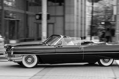 Black Cadillac Convertible