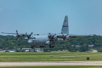 United States Air Force Lockheed C-130H-2 93-1456 6-3-20