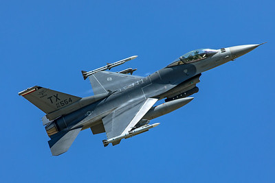 United States Air Force General Dynamics F-16C 85-1554 6-3-20