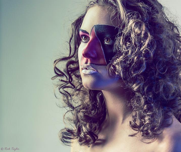Abstract Make-up