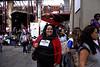 President of Amendoeiras Project Sandra  Figueira during the fashion parade of 2012 Spring-Summer collection at Fundicao Progresso, Rio de Janeiro, Brazil, August 5, 2011. (Austral Foto/Renzo Gostoli)