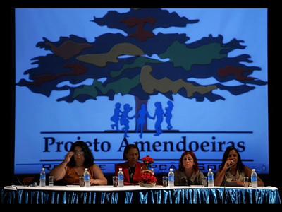 VIDEO- Aula Inaugural do Projeto Amendoeiras, UERJ, Rio de janeiro, Brasil, Junho 21, 2011. (Austral Foto/Renzo Gostoli)
