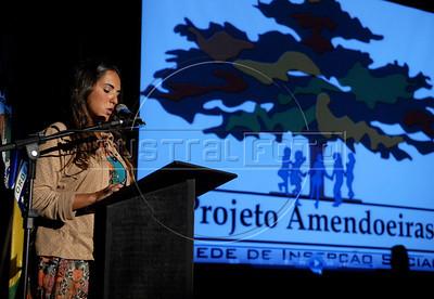 Aula Inaugural do Projeto Amendoeiras, UERJ, Rio de janeiro, Brasil, Junho 21, 2011. (Austral Foto/Renzo Gostoli)