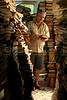 """Evando dos Santos at the Tobias Barreto Community Library in Rio de Janeiro, Brazil. Founded in 1998 in his own home by day laborer Evando dos Santo, the library has some 40,000 volumes and will soon move into a new building nearby designed by Brazilian Architect Oscar Niemeyer. (Australfoto/Douglas Engle)<br /> <br /> Envando dos Santos en la biblioteca comunitaria """"Tobias Barreto"""" en Rio de Janeiro, Brazil. Fundada en 1998 en su propria casa por el obrero Evando dos Santos, la biblioteca contiene alrededor de 40 mil volumenes y mudaria para un edificio disenado por el arquitecto Brasileno Oscar Niemeyer. (Australfoto/Douglas Engle)"""