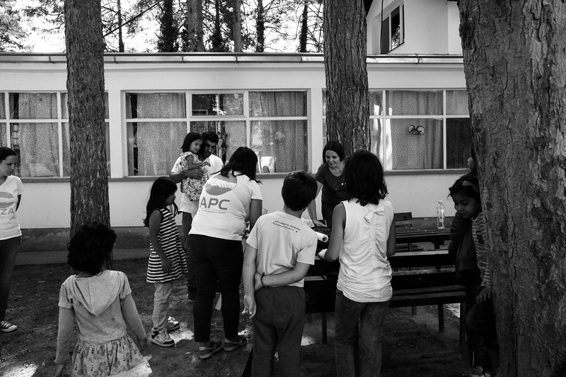 Life at Bogovadja refugee camp- serbia.
