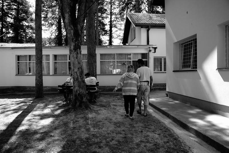 Life at Bogovadja refugee camp- serbia.