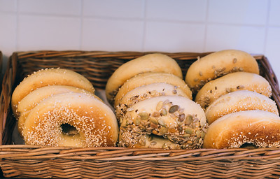Bagel Bejgl- A shop run by survivors of voilence against women in belgrade, Serbia.