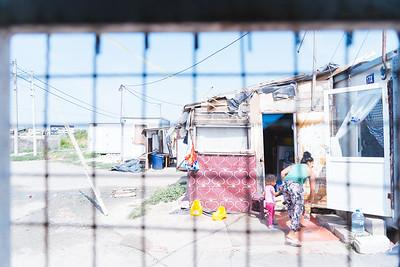 Reva- A part of Roma settlement in Karnjača, Belgrade, Serbia.
