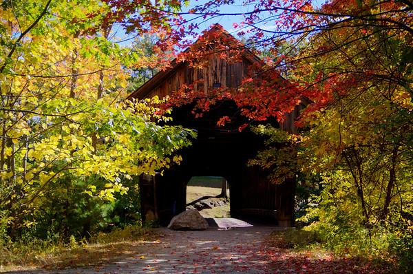 #41 Wooden Bridge, Henniker, N.H.