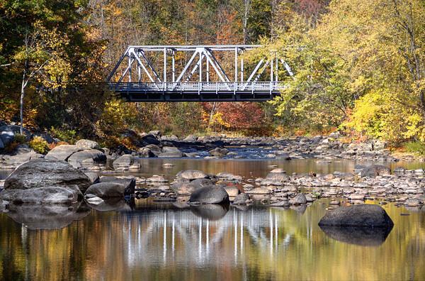 #39 Steel Bridge, Henniker, N.H.