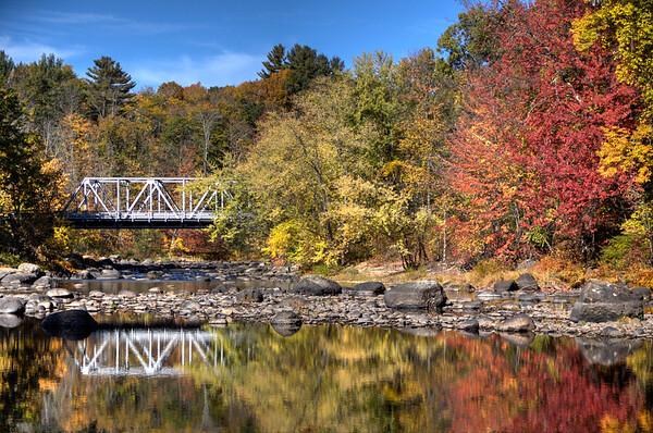 #40 Steel Bridge, Henniker N.H.