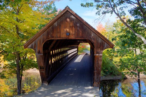 #43 Wooden Bridge, Henniker, N.H.