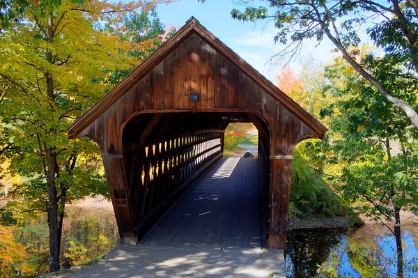 #44 Wooden Bridge, Henniker, N.H.