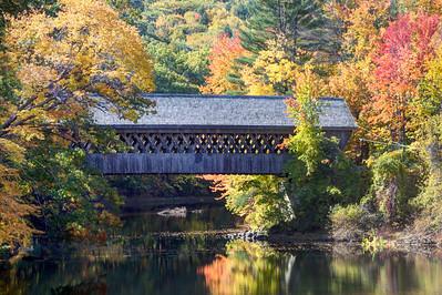 #46 Wooden Bridge, Henniker, N.H.