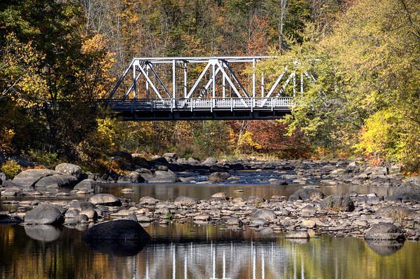 #38 Steel Bridge, Henniker, N.H.