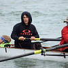 The 2017 Hebda Cup Regatta was held on the Detroit River on Saturday morning in Wyandotte. The  Crestwood men finished in a second-place tie and the team tied for third overall. (MIPrepZone Photo Gallery by Frank Wladyslawski)