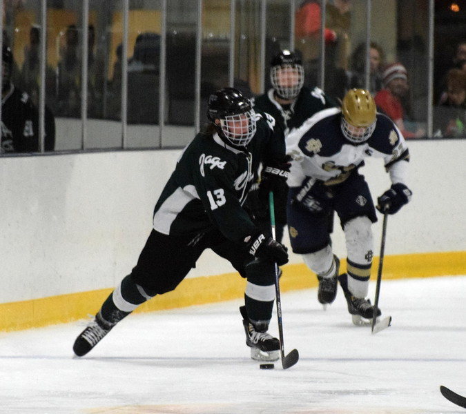 Anthony Curcuru and the Allen Park Jaguars finished 24-2-2 in 2015-16, which was the program's best record ever. (MIPrepZone File Photo)