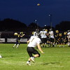 Madison Heights Bishop Foley wrapped up a 34-20 victory over Allen Park Cabrini on Sunday, a day after the game was suspended at halftime, due to lightning. Foley led the game, 17-13, when play was suspended. (MIPrepZone Photo Gallery by Frank Wladyslawski)
